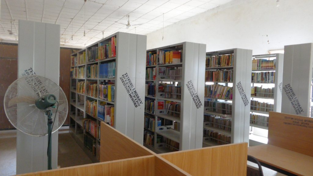 MORE BOOKS ON NEW SHELVES IN COLLEGE LIBRARY